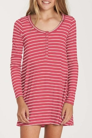 Billabong Girls' Bright-Stripe Dress - Front cropped