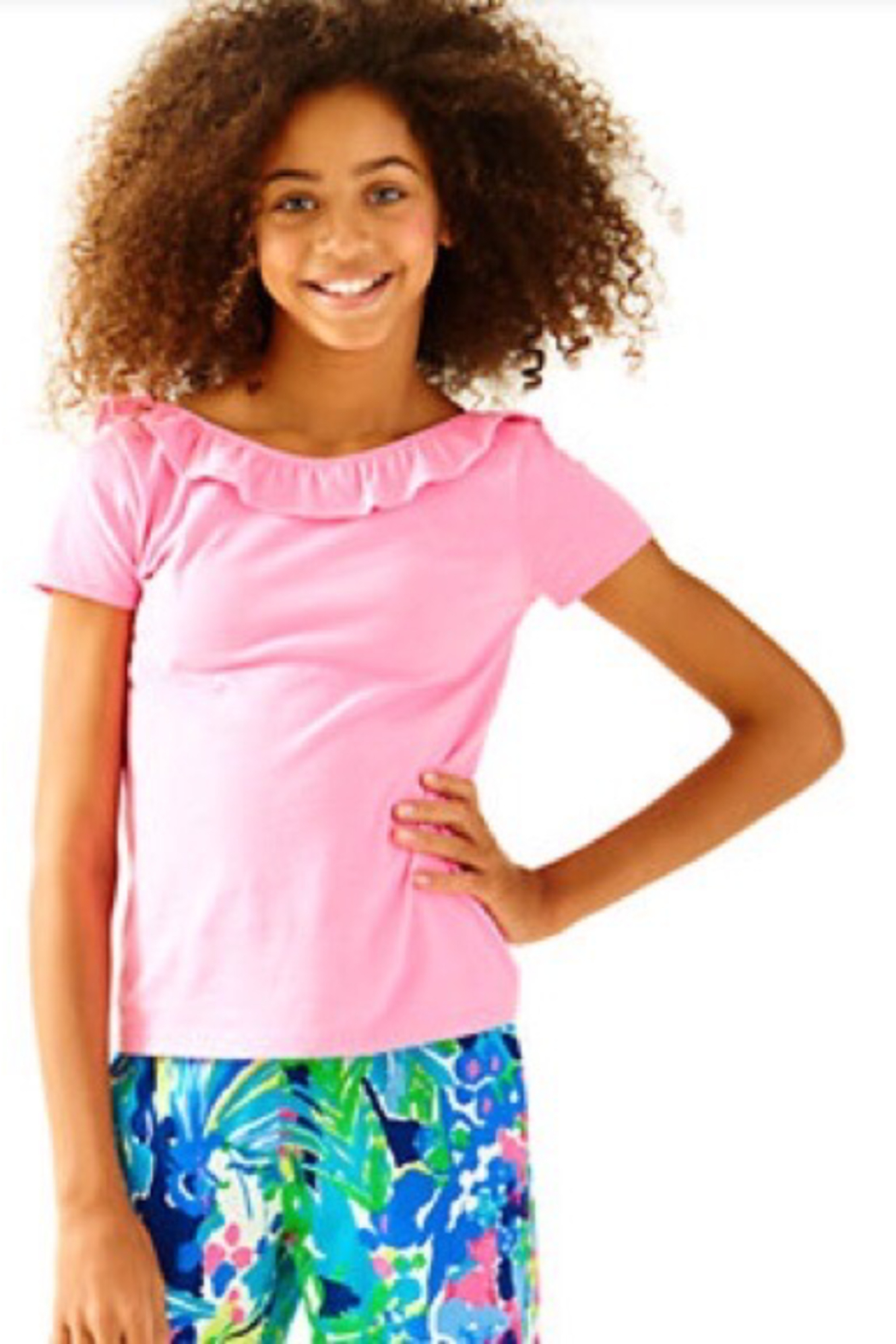 Lilly Pulitzer  Girls Brit Top - Main Image