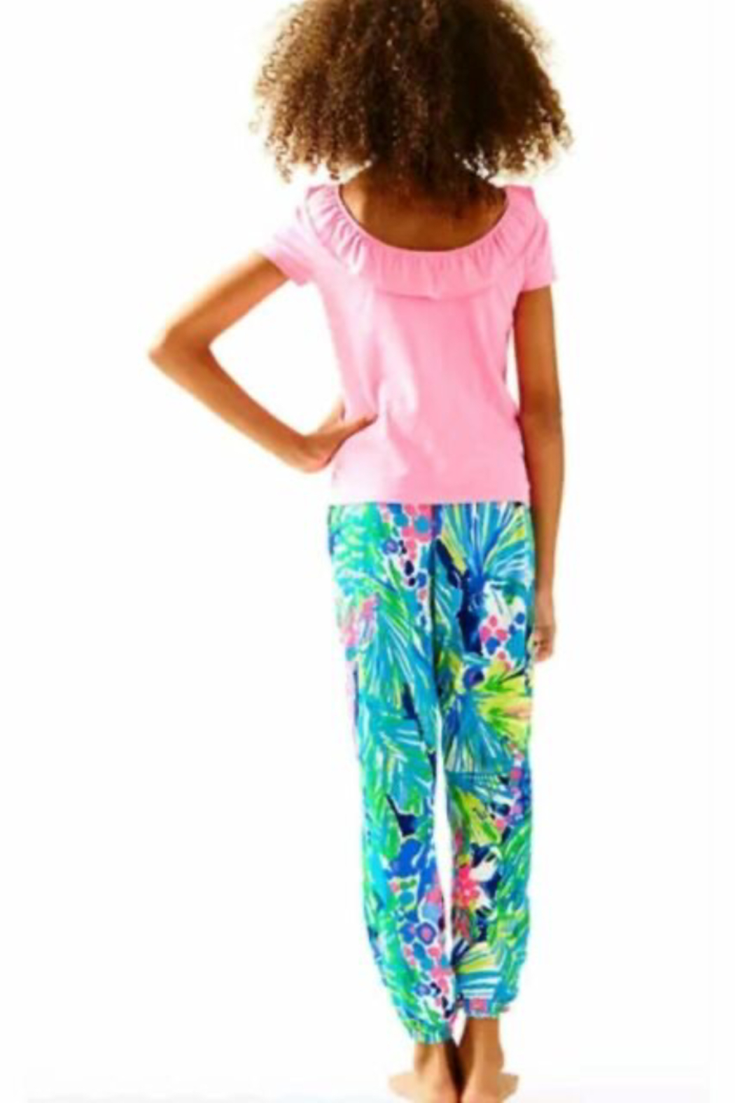 Lilly Pulitzer  Girls Brit Top - Front Full Image