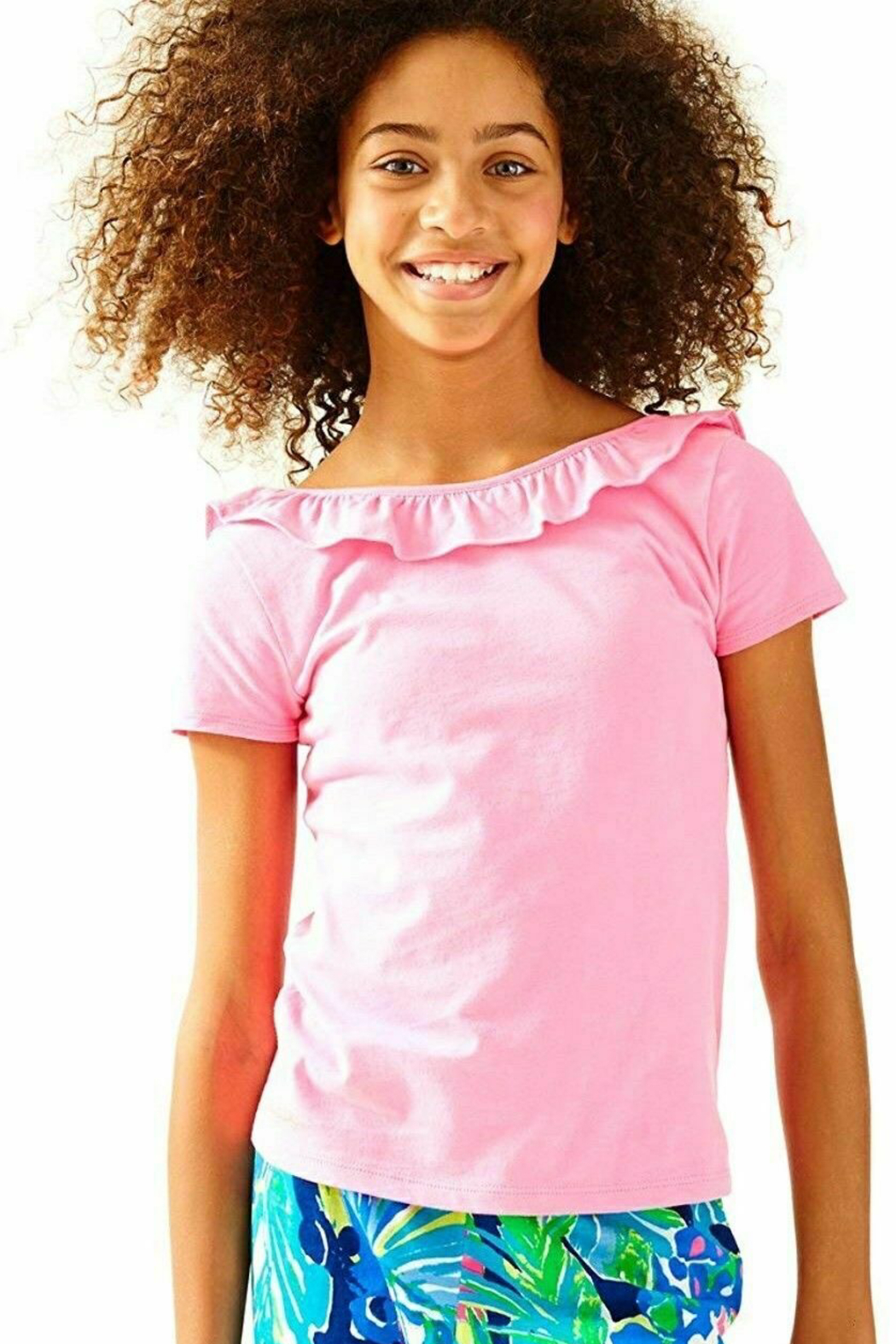 Lilly Pulitzer  Girls Brit Top - Side Cropped Image