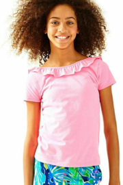 Lilly Pulitzer  Girls Brit Top - Side cropped