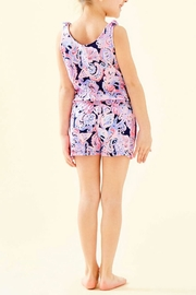 Lilly Pulitzer Girls Cady Romper - Front full body