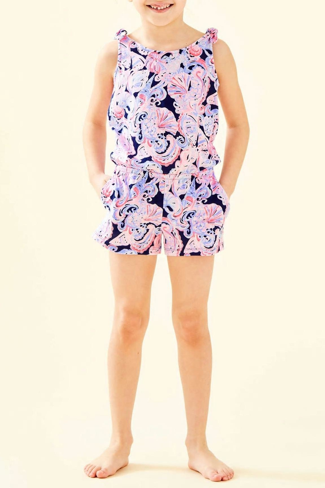 Lilly Pulitzer Girls Cady Romper - Main Image