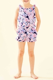 Lilly Pulitzer Girls Cady Romper - Front cropped
