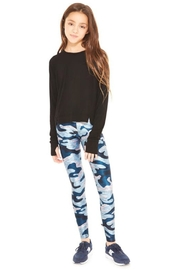 Terez Girls Camo Legging - Front full body