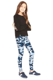 Terez Girls Camo Legging - Front cropped
