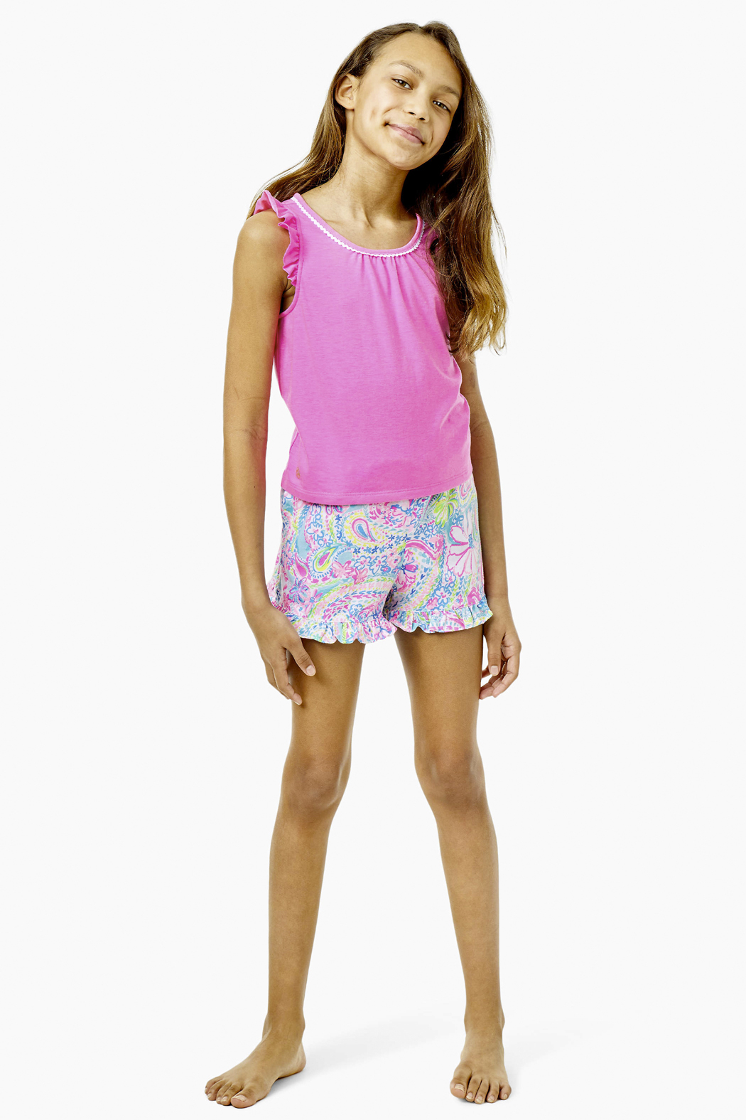 Lilly Pulitzer  Girls Carrita Short - Side Cropped Image