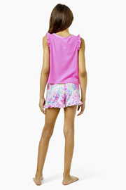 Lilly Pulitzer  Girls Carrita Short - Back cropped