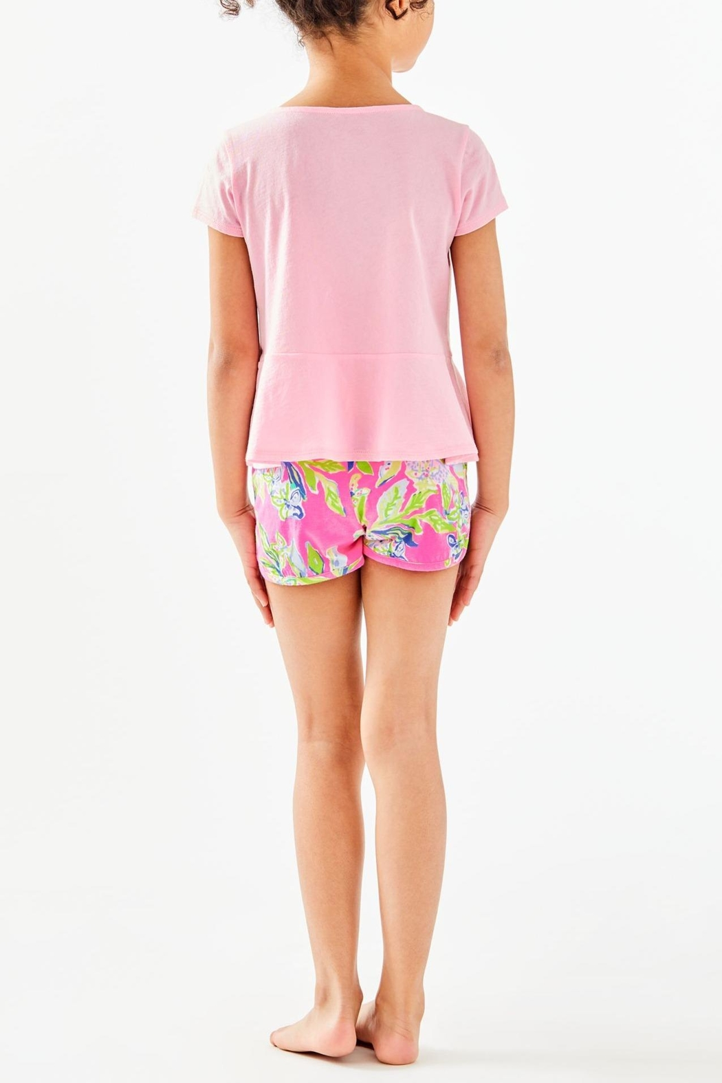 Lilly Pulitzer Girls Cecile Short - Front Full Image