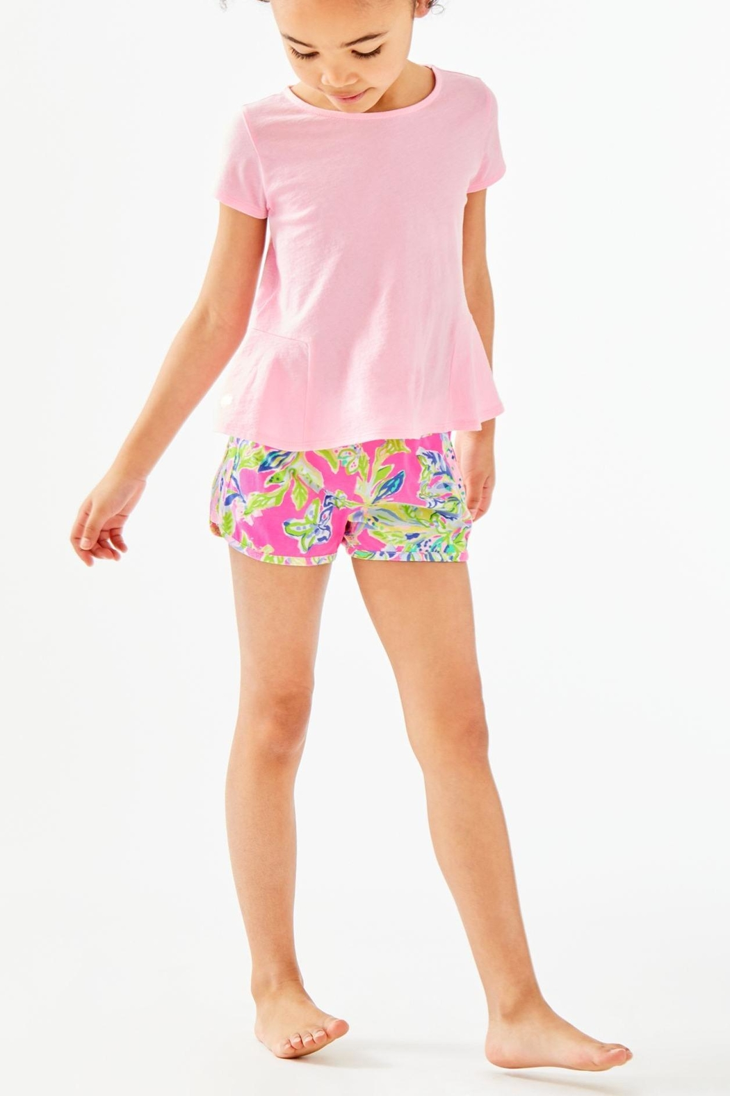 Lilly Pulitzer Girls Cecile Short - Side Cropped Image
