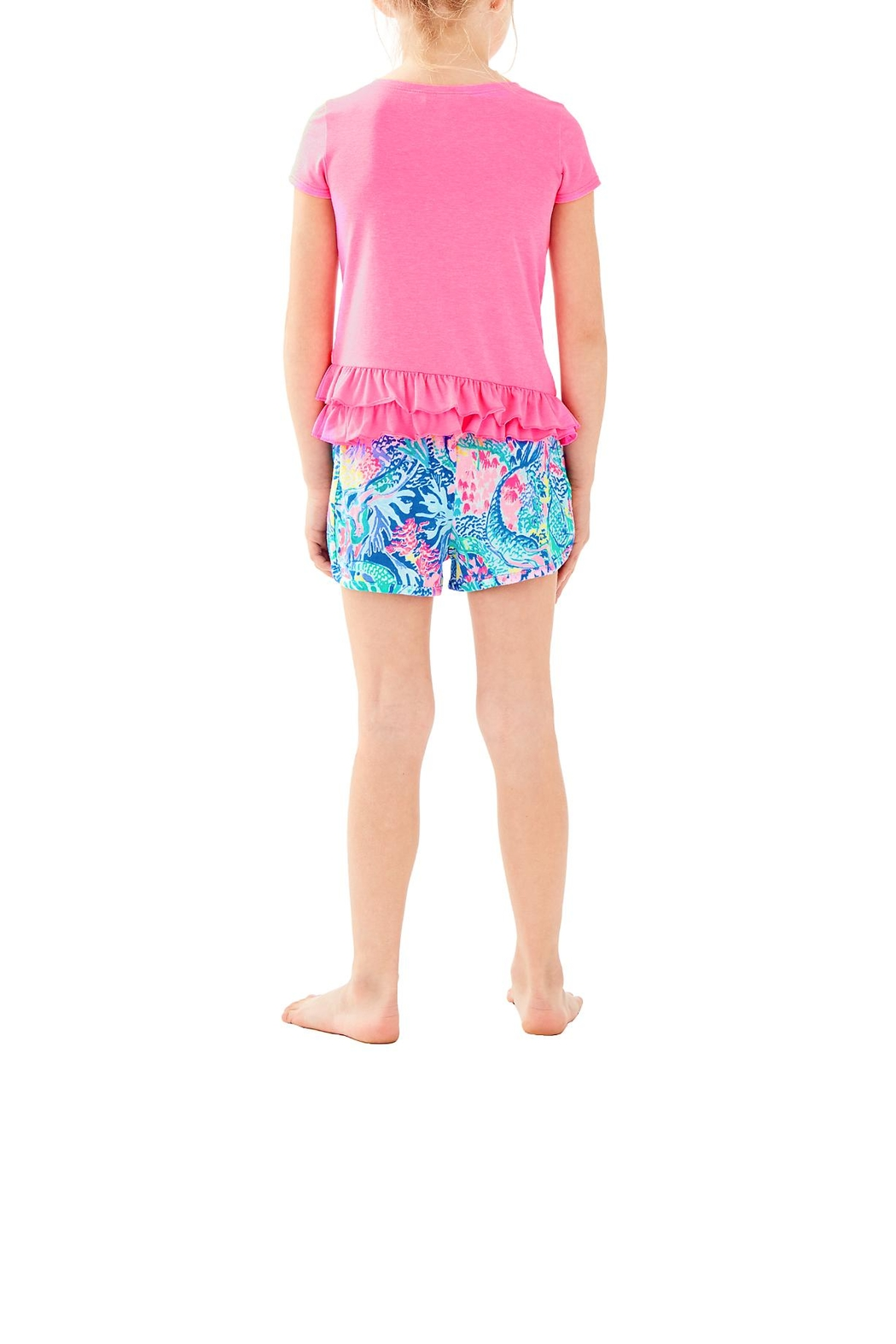 Lilly Pulitzer Girls Ceclie Short - Front Full Image