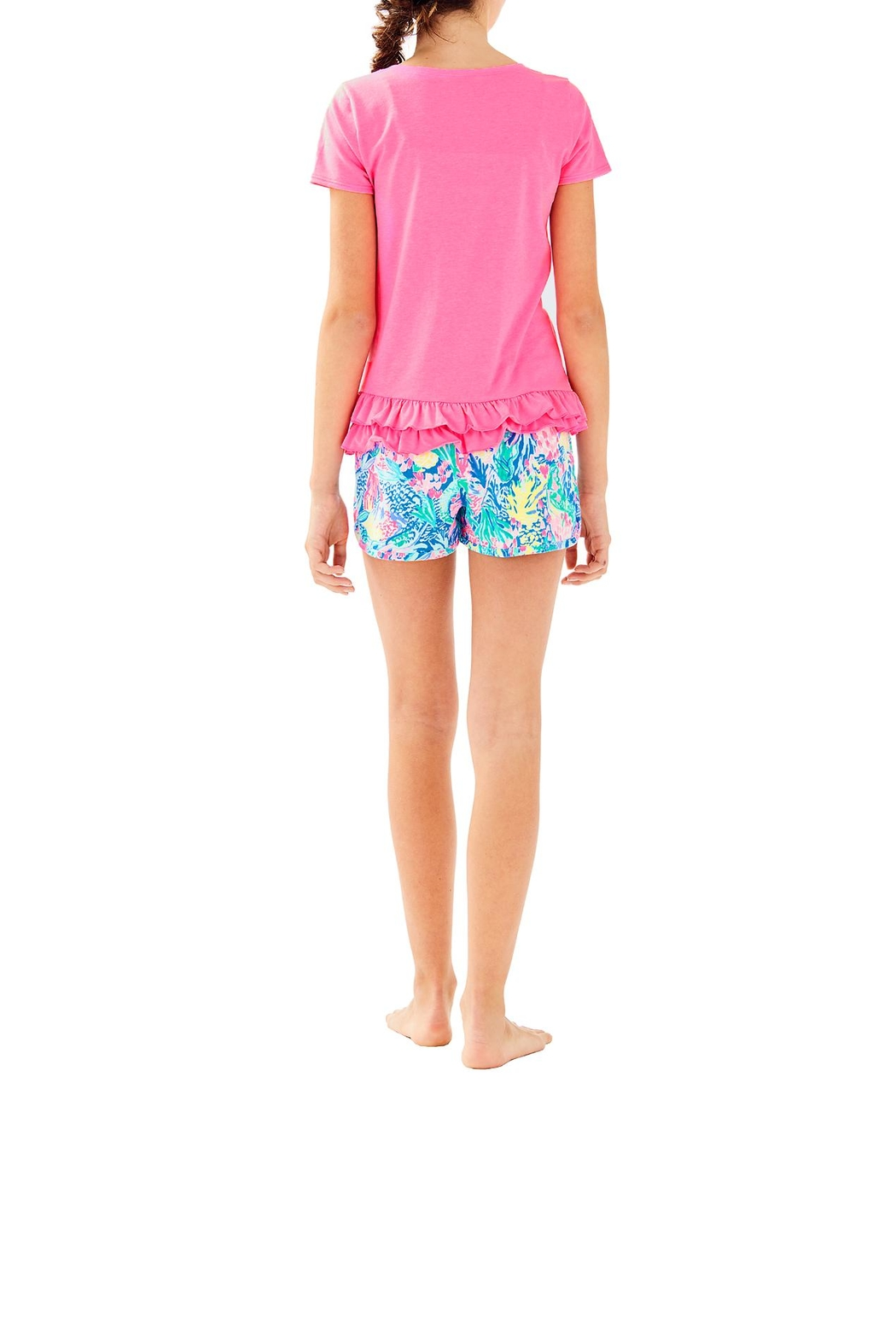 Lilly Pulitzer Girls Ceclie Short - Back Cropped Image