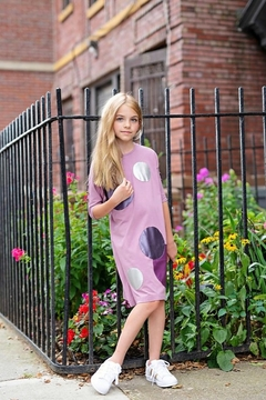 Shoptiques Product: GIRLS CIRCLE PATCH DRESS