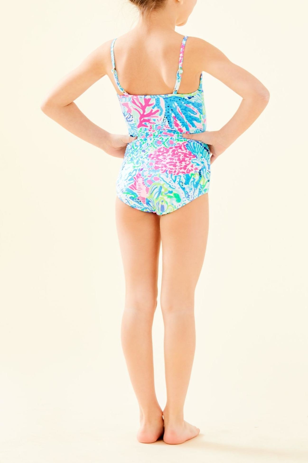Lilly Pulitzer Girls Danica Swimsuit - Front Full Image