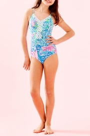 Lilly Pulitzer Girls Danica Swimsuit - Back cropped