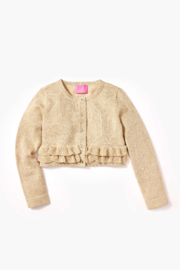 Lilly Pulitzer  Girls Fleur Cardigan - Front cropped