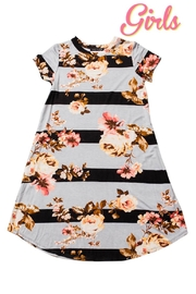 Sweet Claire Girls Floral Dress - Front cropped