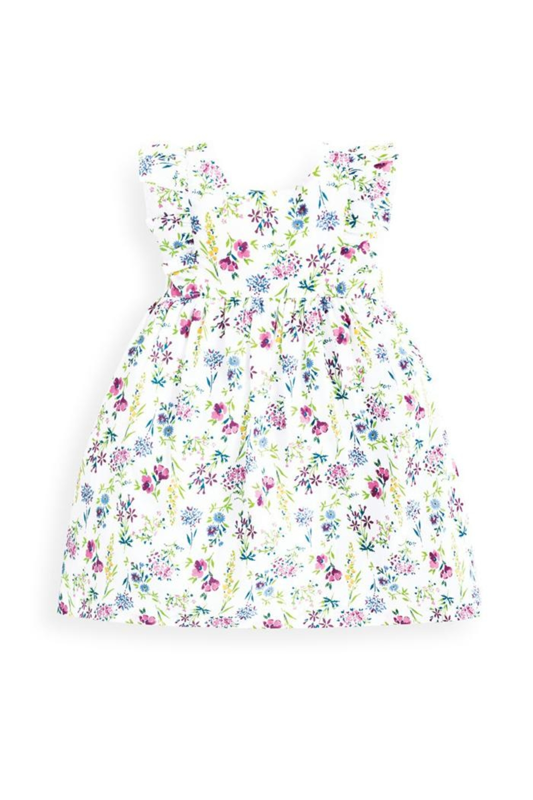 JoJo Maman Bebe Girls Floral Summer-Dress - Main Image