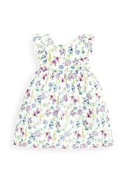 JoJo Maman Bebe Girls Floral Summer-Dress - Front cropped