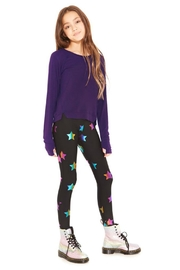 Terez Girls Foiled Legging - Front cropped