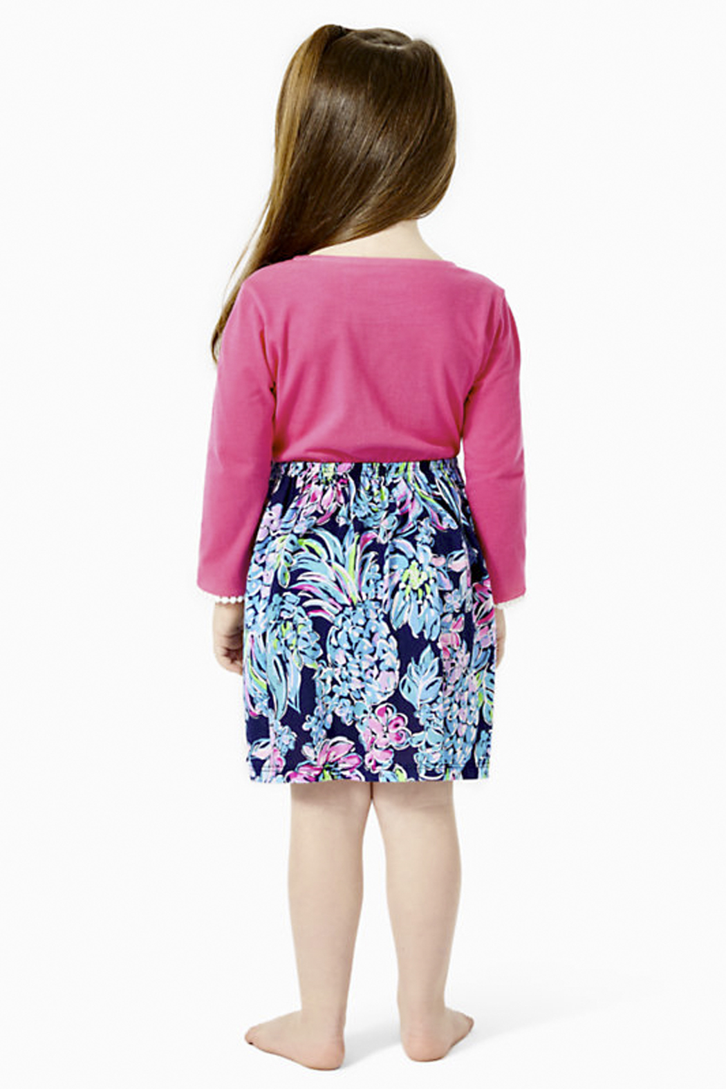 Lilly Pulitzer  Girls Giavanna Dress - Front Full Image