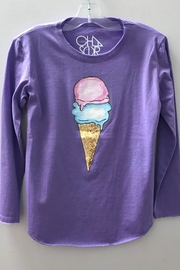 Chaser GIRLS ICE CREAM GRAPHIC TEE - Product Mini Image