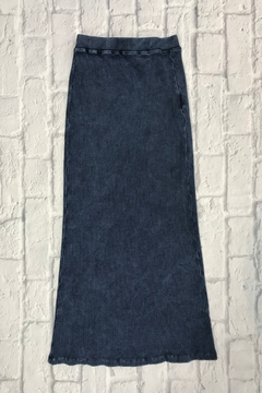 Kikiriki GIRLS INDIGO RIBBED MAXI Model#41931 - Alternate List Image