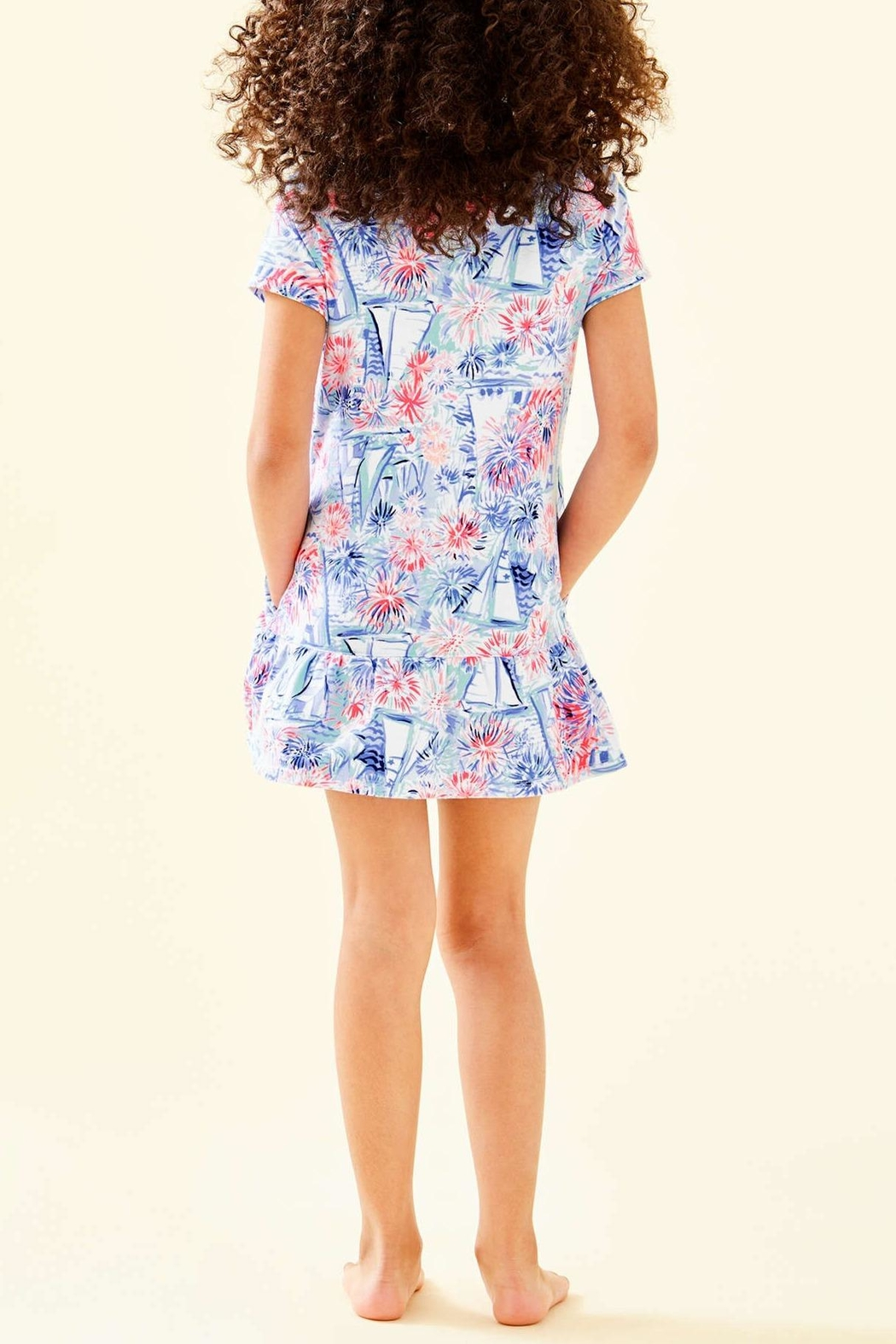 Lilly Pulitzer Girls Ivy Cover-Up - Front Full Image