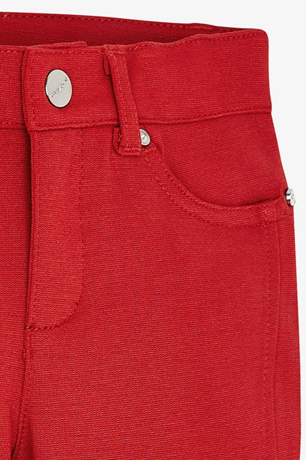 Mayoral Girls Jegging-Style Trousers - Side Cropped Image
