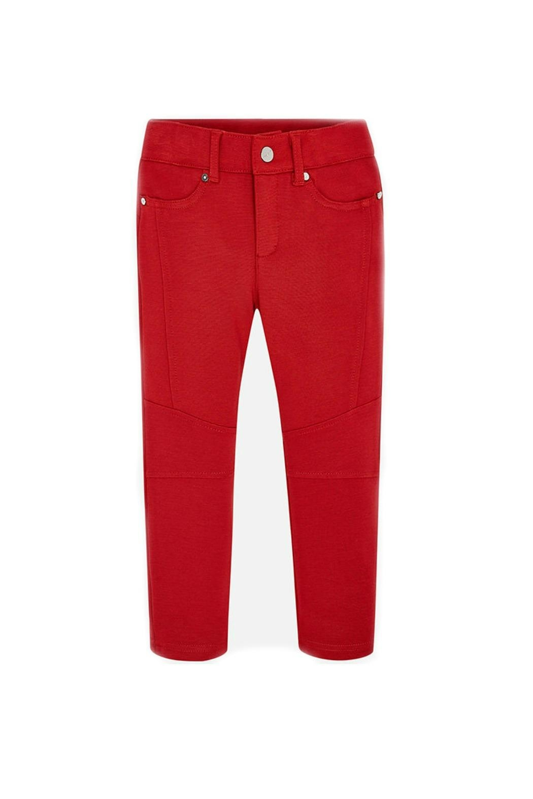 Mayoral Girls Jegging-Style Trousers - Main Image
