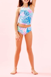 Lilly Pulitzer Girls Kinley Tankini-Swimsuit - Side cropped