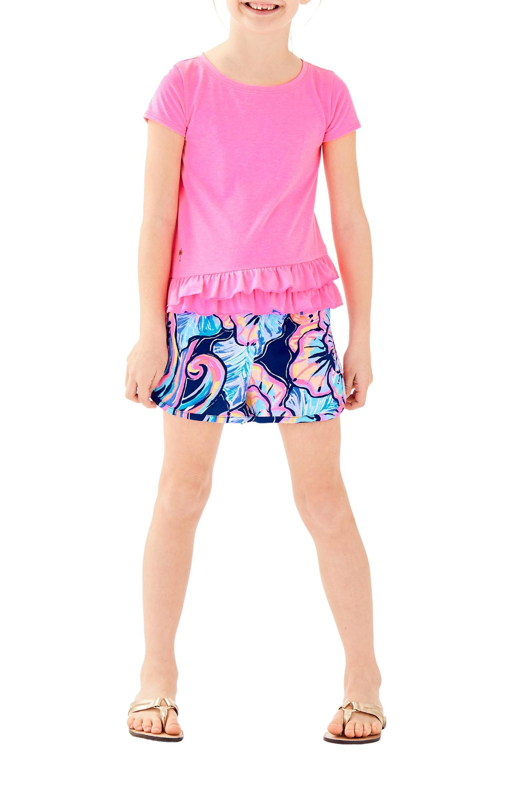Lilly Pulitzer Girls Leightan Top - Main Image