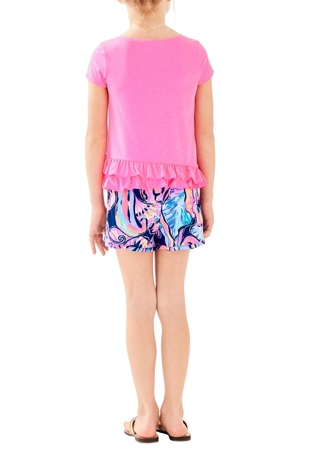 Lilly Pulitzer Girls Leightan Top - Front Full Image