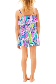 Lilly Pulitzer Girls Leonie Romper - Front full body