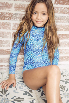 Estivo Girls Long Sleeve One Piece - Product List Image