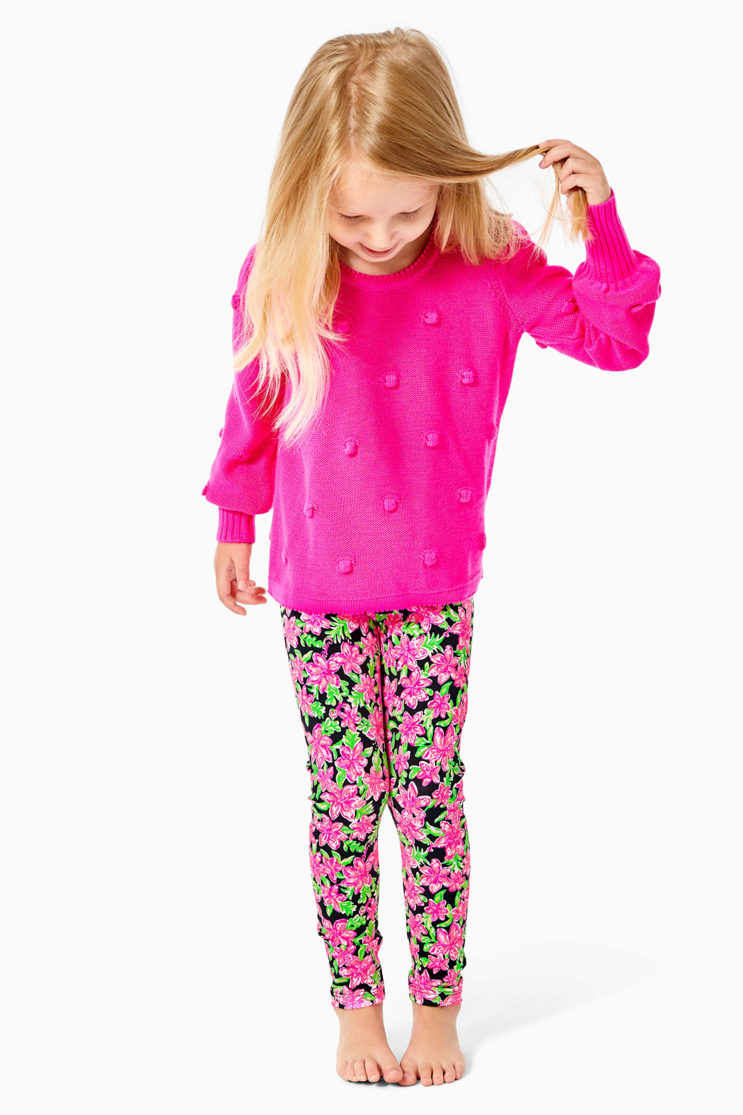 Lilly Pulitzer  Girls Maia Legging - Side Cropped Image