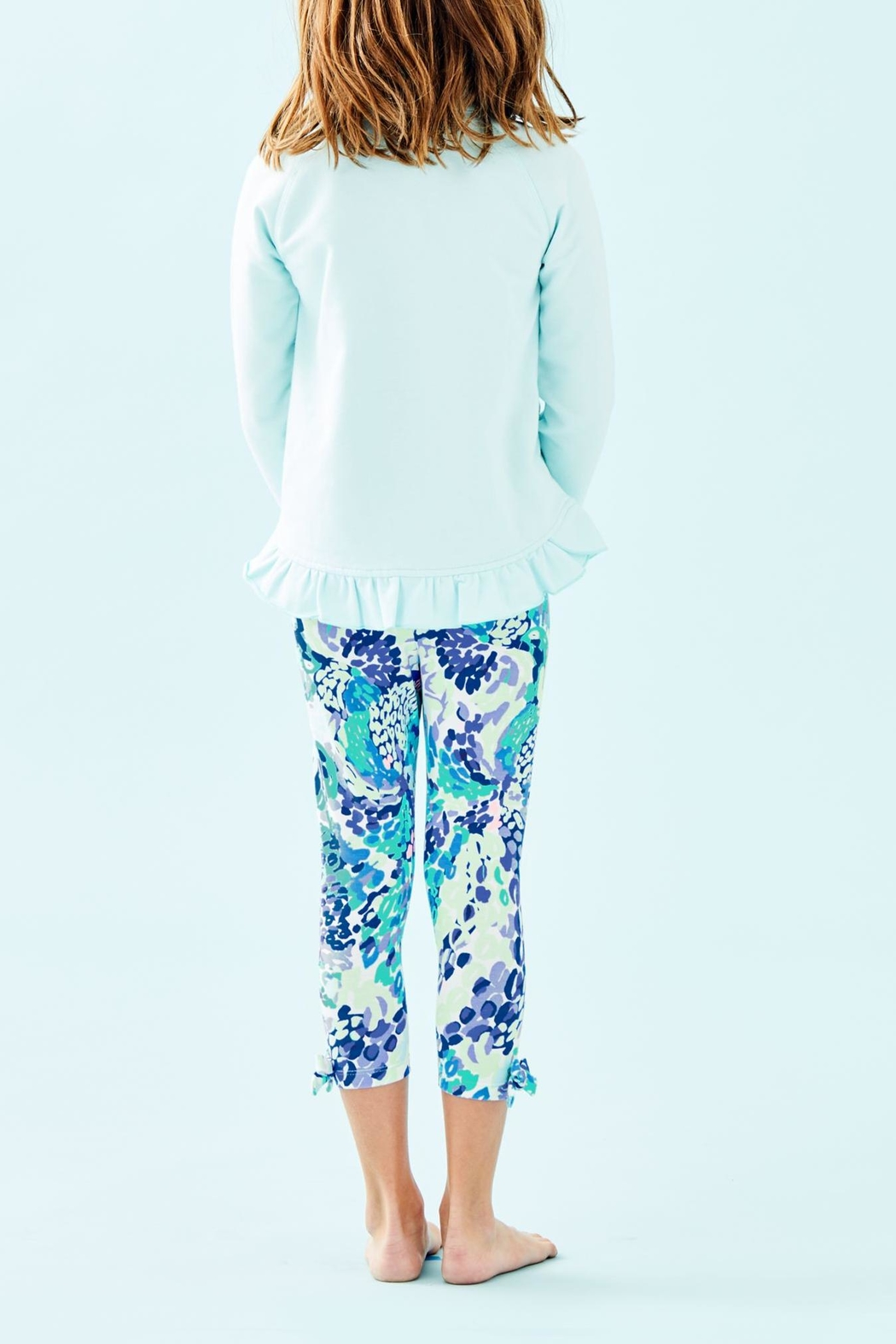 Lilly Pulitzer Girls Maia Legging - Front Full Image