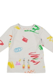 TEELA GIRLS Marker Print Graphic Tee - Product Mini Image