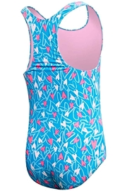 TYR Girls Maxfit 1-Piece - Front full body