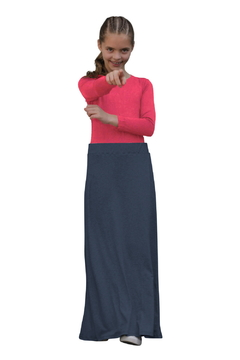 Kosher Casual Girls Maxi A-Line Skirt - Product List Image