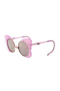 Shoptiques Product: Girls Milky-Pink Sunglasses