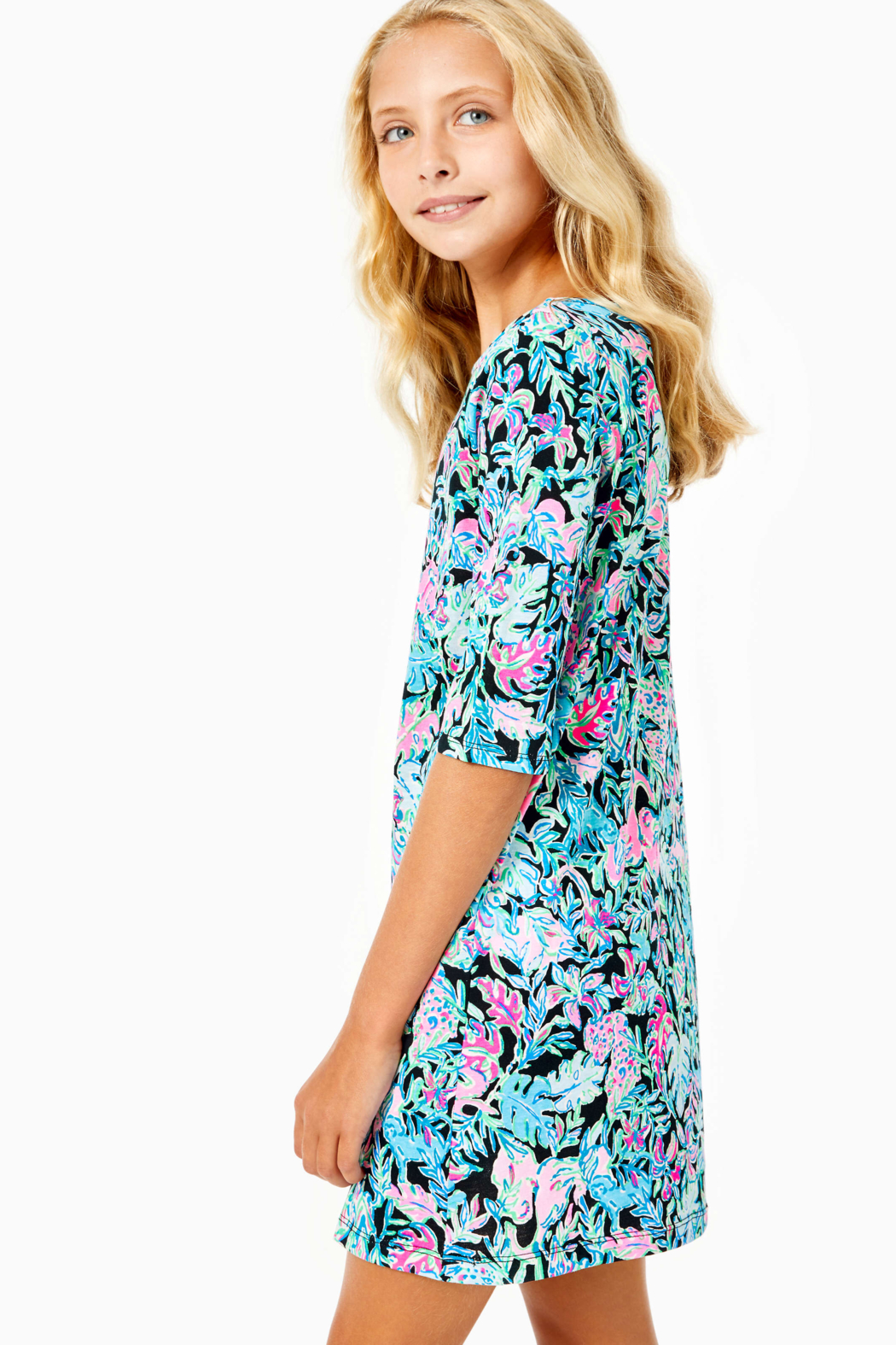 Lilly Pulitzer  Girls Mini Marlowe Dress - Front Full Image