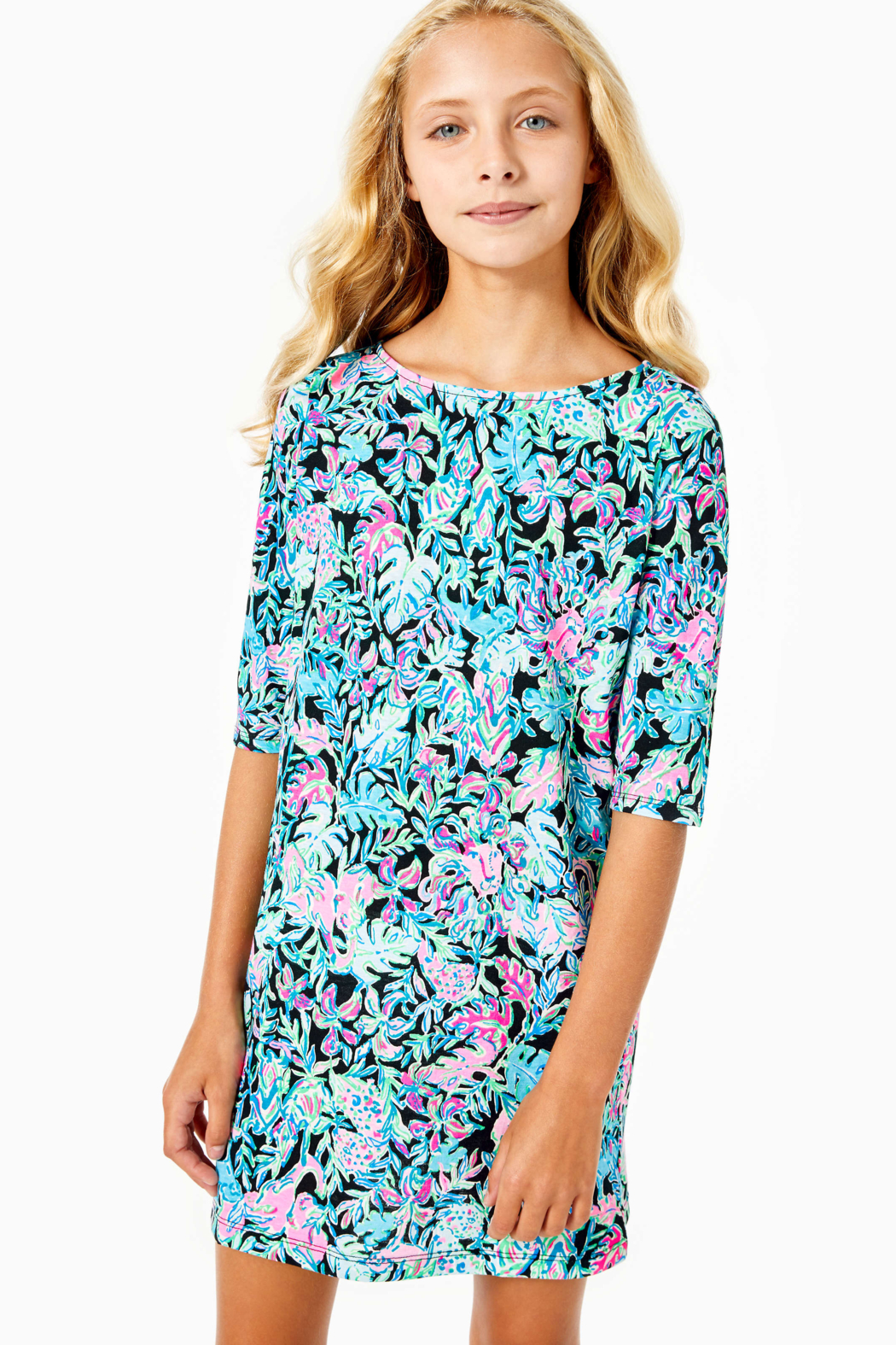 Lilly Pulitzer  Girls Mini Marlowe Dress - Main Image