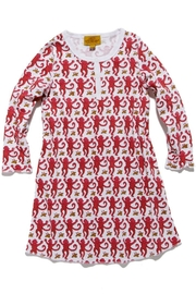Roberta Roller Rabbit Girls Monkey Nightgown - Front cropped