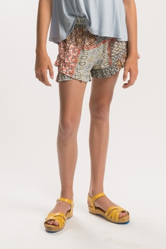 Shoptiques Product: Girls Paisley Short