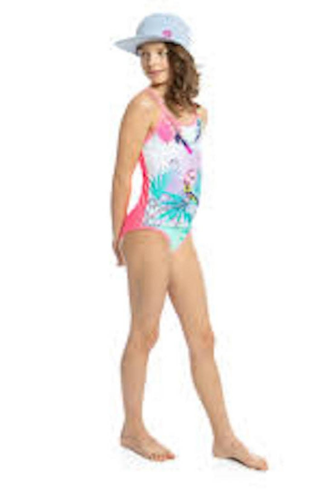 NaNo Girls Parrot 1-Piece - Front Full Image