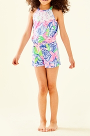 Lilly Pulitzer Girls Pearl Romper - Product Mini Image
