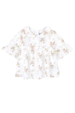 Tartine et Chocolat Girls Printed Blouse - Product List Image