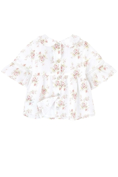 Tartine et Chocolat Girls Printed Blouse - Alternate List Image