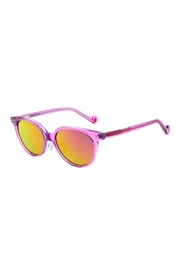 ZooBug Girls Purple Sunglasses - Front cropped